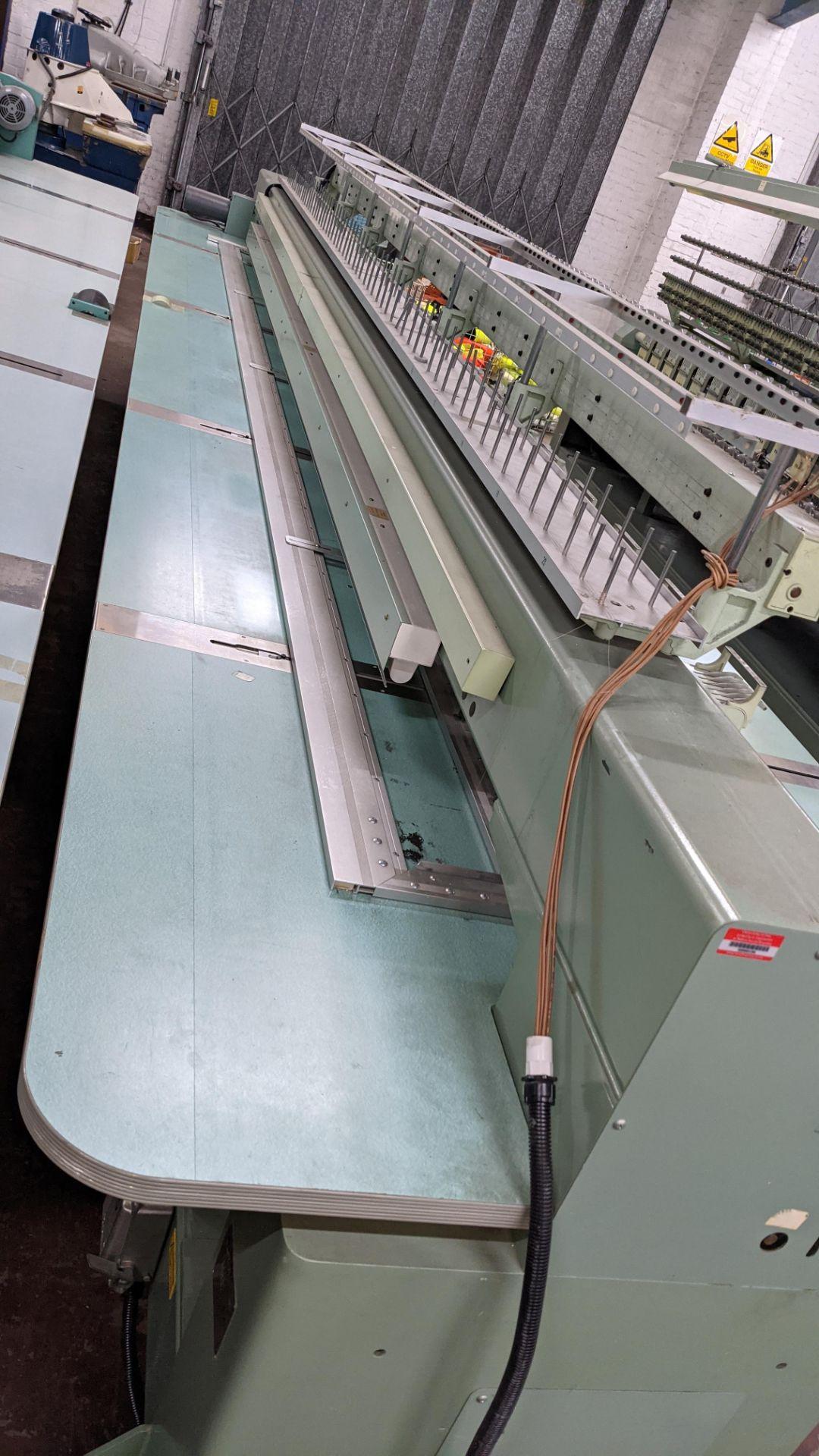 Tokai Tajima electronic 20 head automatic embroidery machine model TMEG-G620, manufacturing number 7 - Image 8 of 19