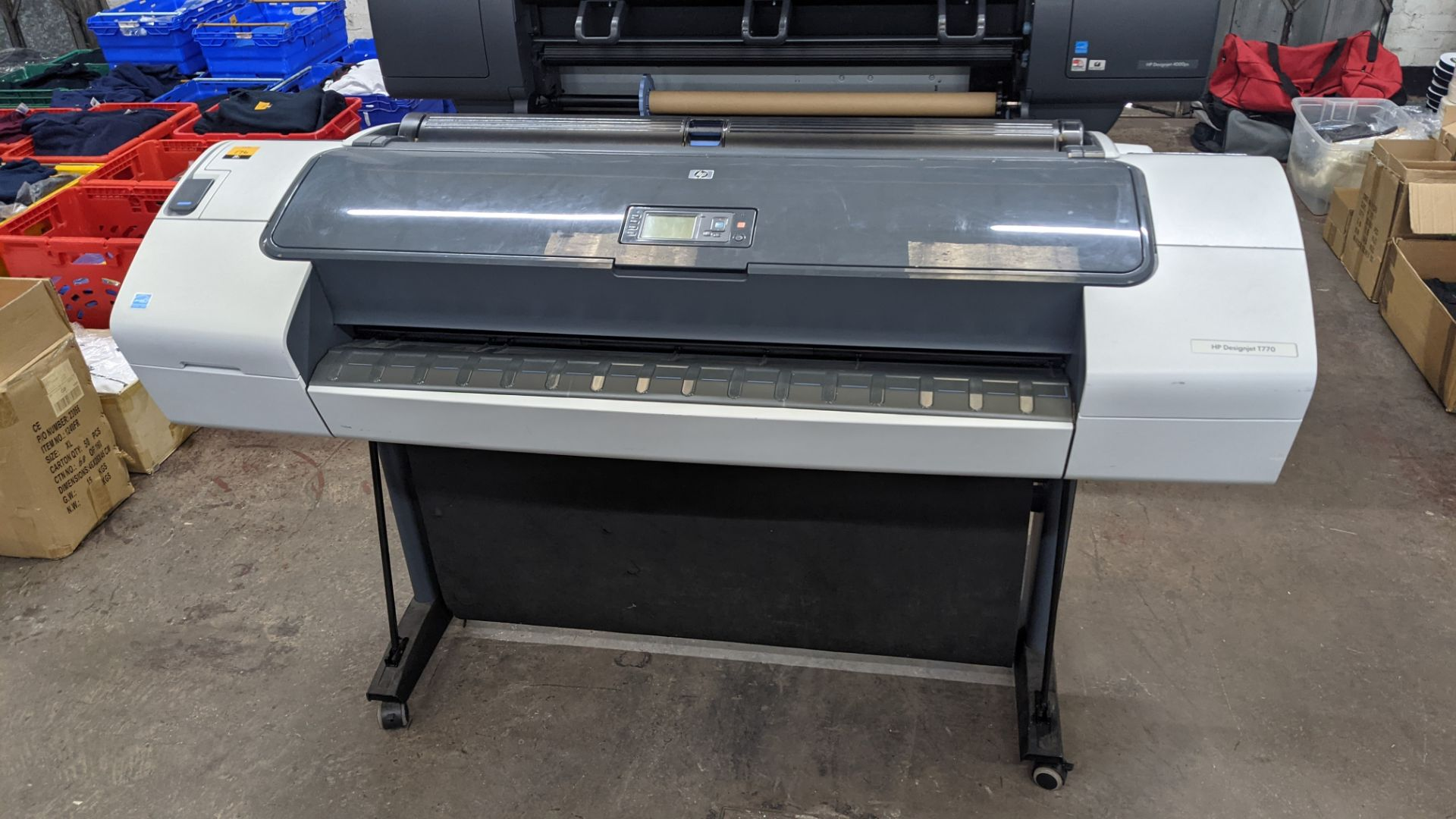 "HP DesignJet T770 wide format printer, product number CH539A/CN375A, factory number CH539-64001 (44"" - Image 3 of 10"