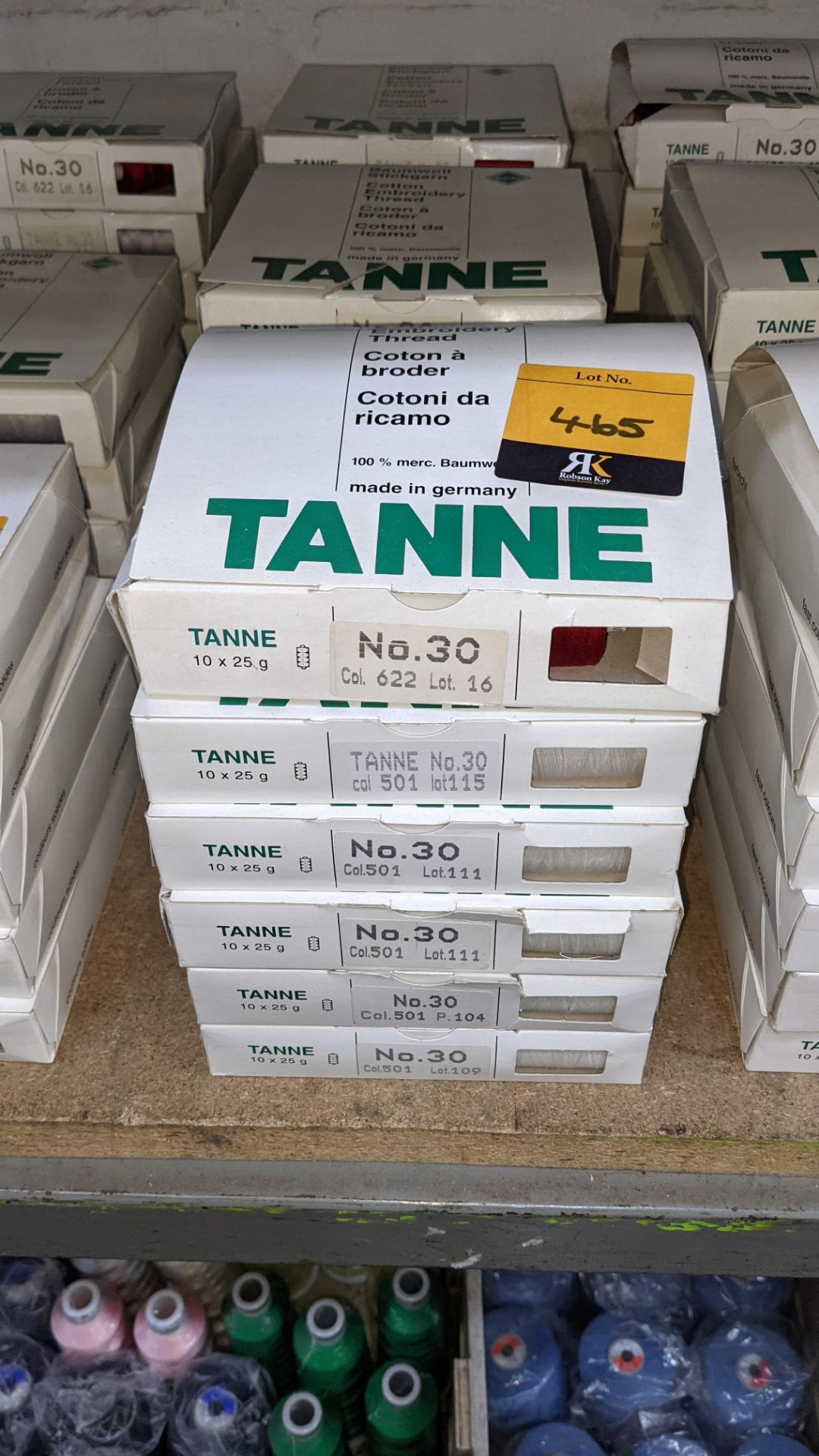 18 boxes of Madeira Tanne (Burmit) cotton embroidery thread - Image 2 of 8