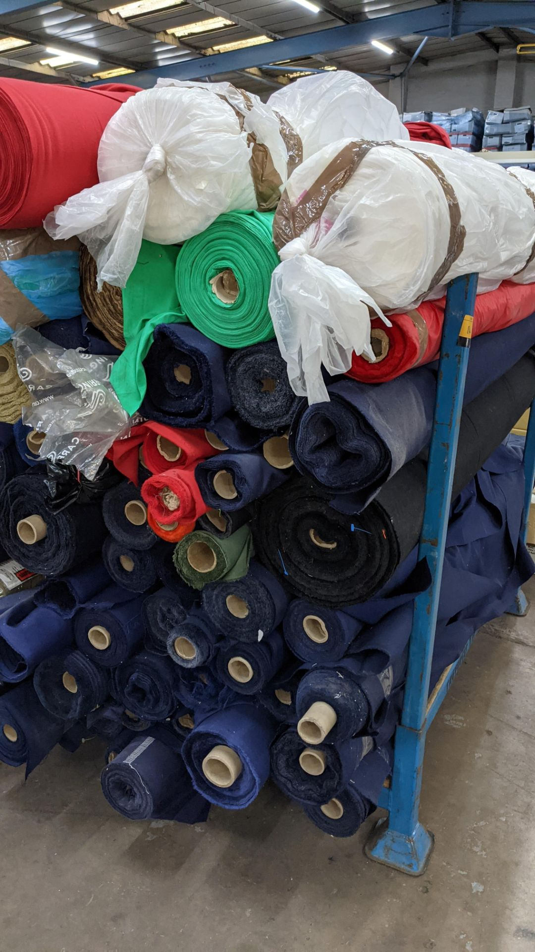 The contents of a large stillage of fabric. Please note the stillage is excluded and cannot be remo - Image 5 of 8