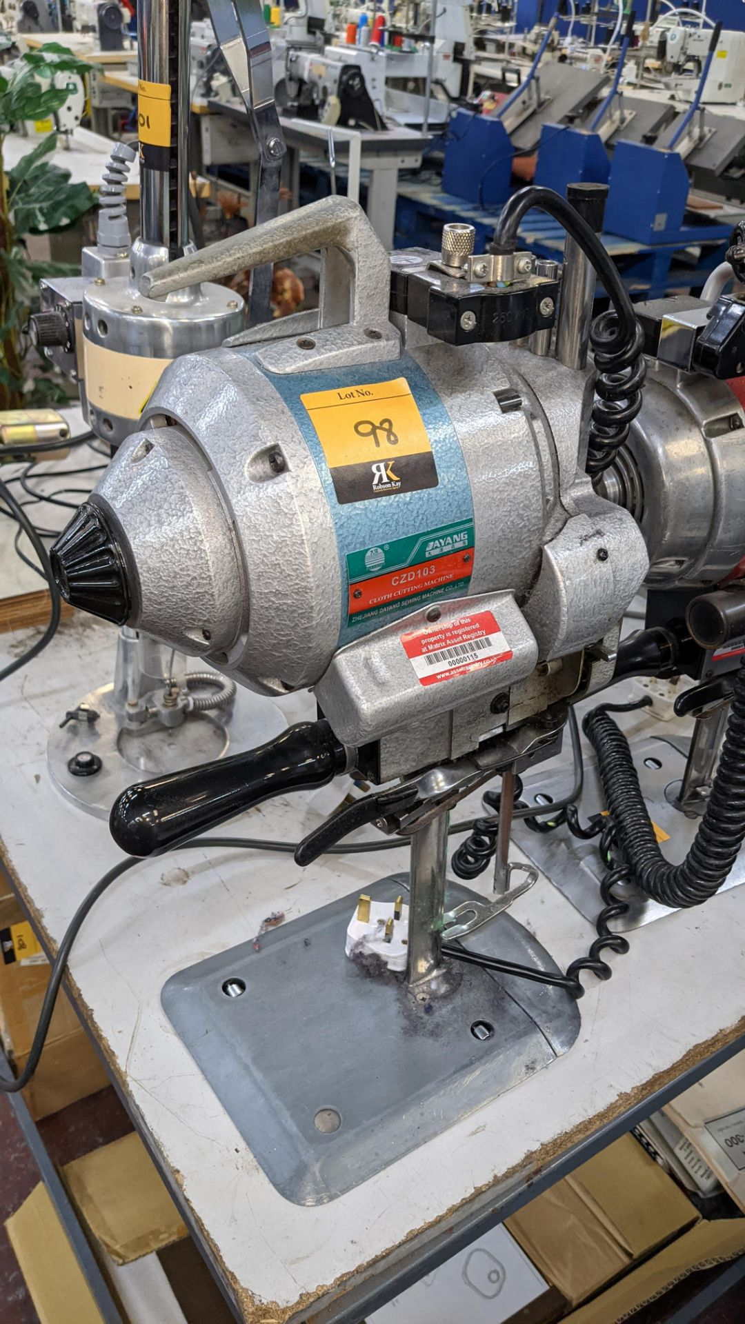 Ayang model CZD103 electric cutter