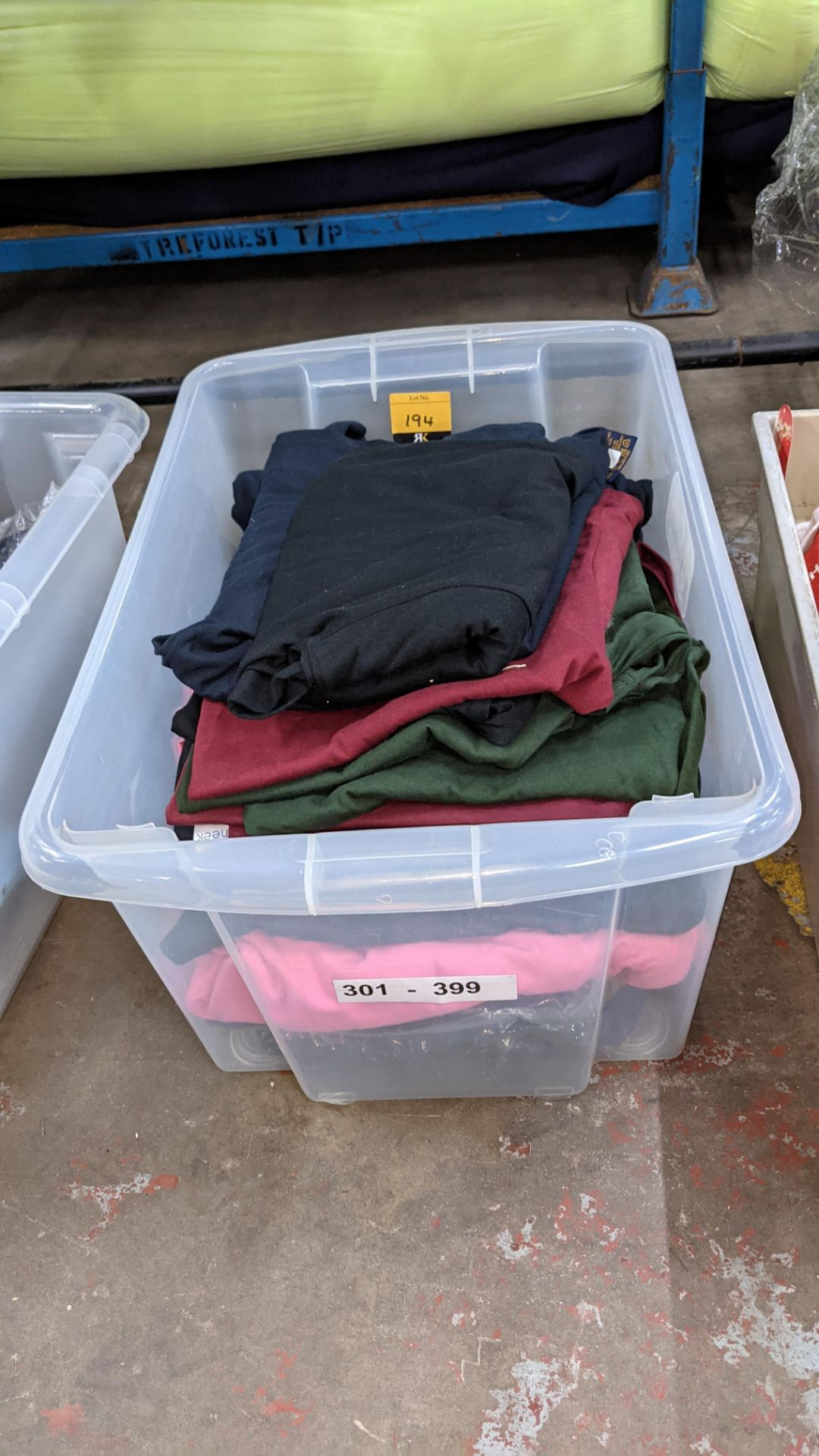 Approx 25 off Uneek assorted t-shirts - Image 2 of 7