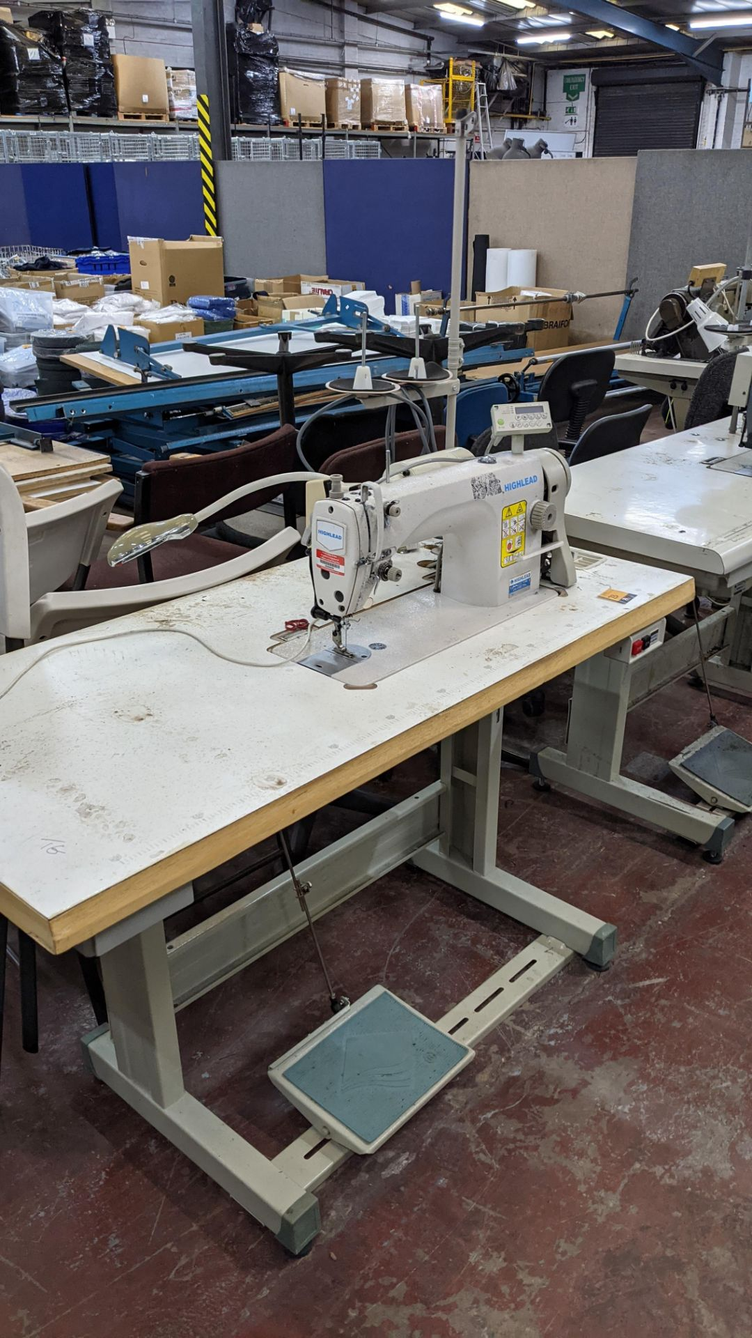 Highlead model GC188-MD sewing machine with model F-10 digital controller - Image 14 of 16