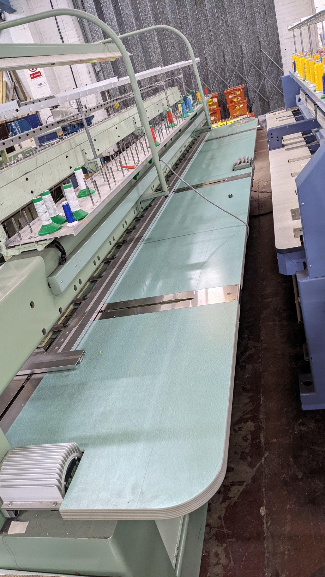 Tokai Tajima electronic 20 head automatic embroidery machine model TMEF-H620 - Image 22 of 25