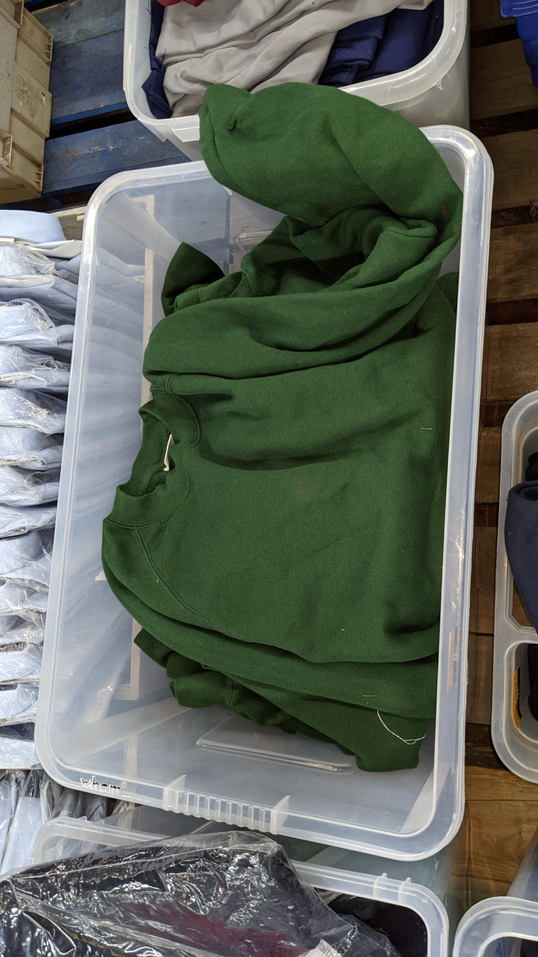 Approx 30 mixed polo shirts & jumpers - the contents of 1 large crate. NB crate excluded - Image 5 of 5