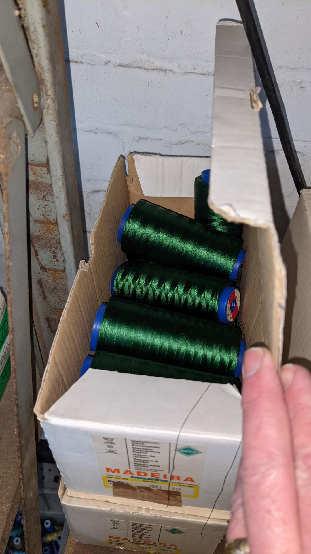 4 boxes of Madeira Burmit No. 40 rayon embroidery thread - Image 6 of 6