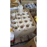 Box of Cast Handyfilm (100mm x 150m x 15mu). This lot consists of 1 box of 40 rolls