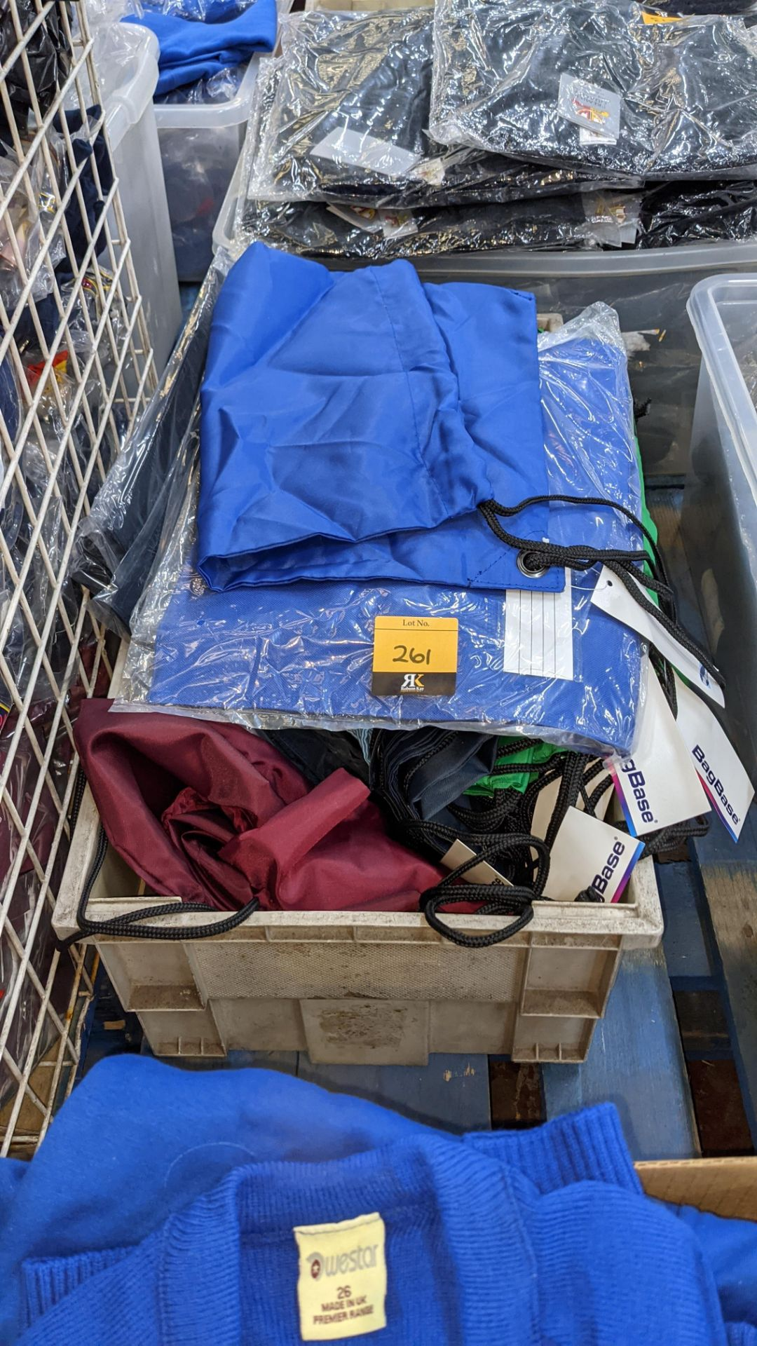 Quantity of children's school bags - the contents of 1 crate. NB crate excluded - Image 2 of 5