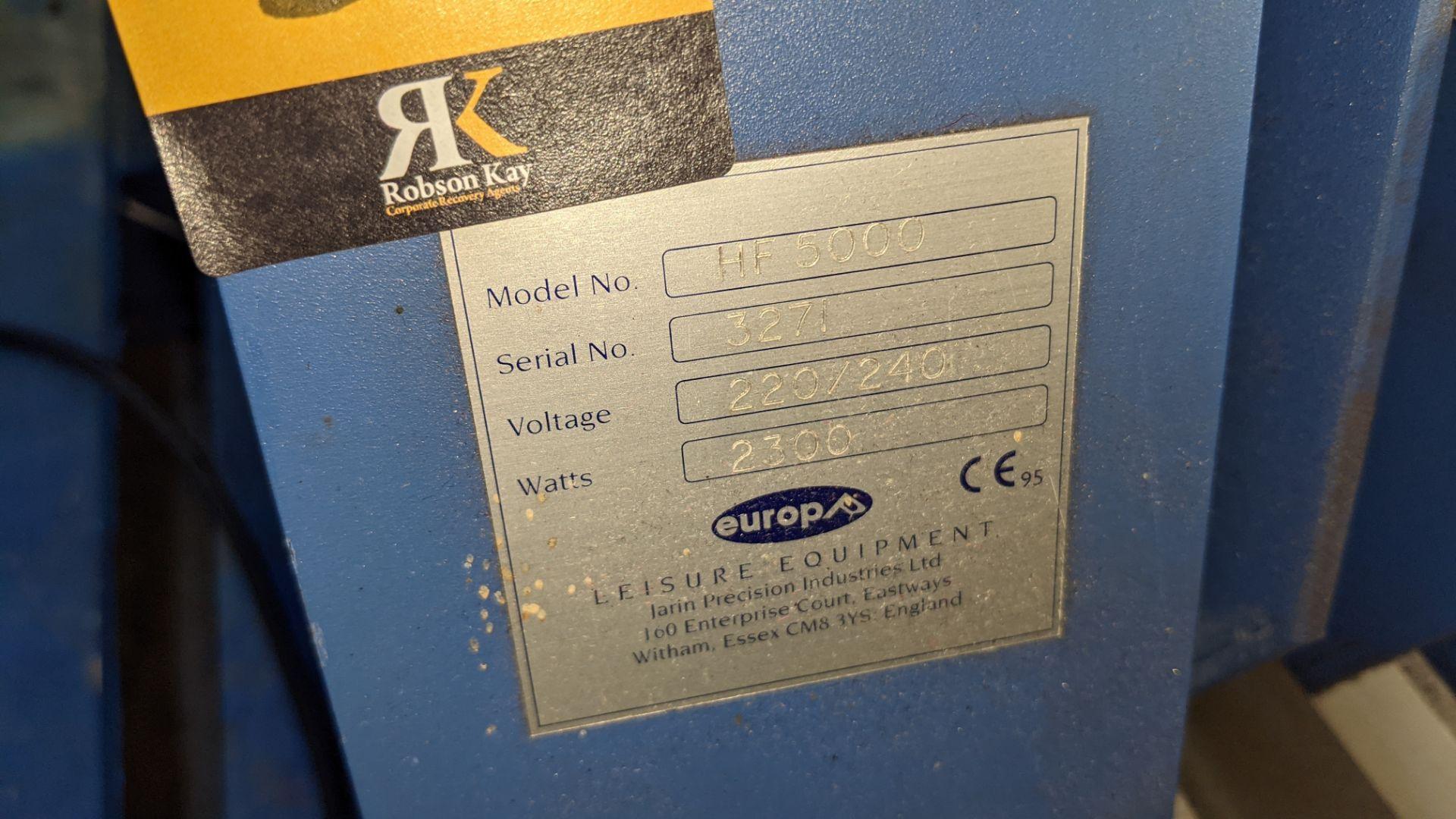 Europa Jarin benchtop heat transfer press model HF5000 - Image 12 of 13