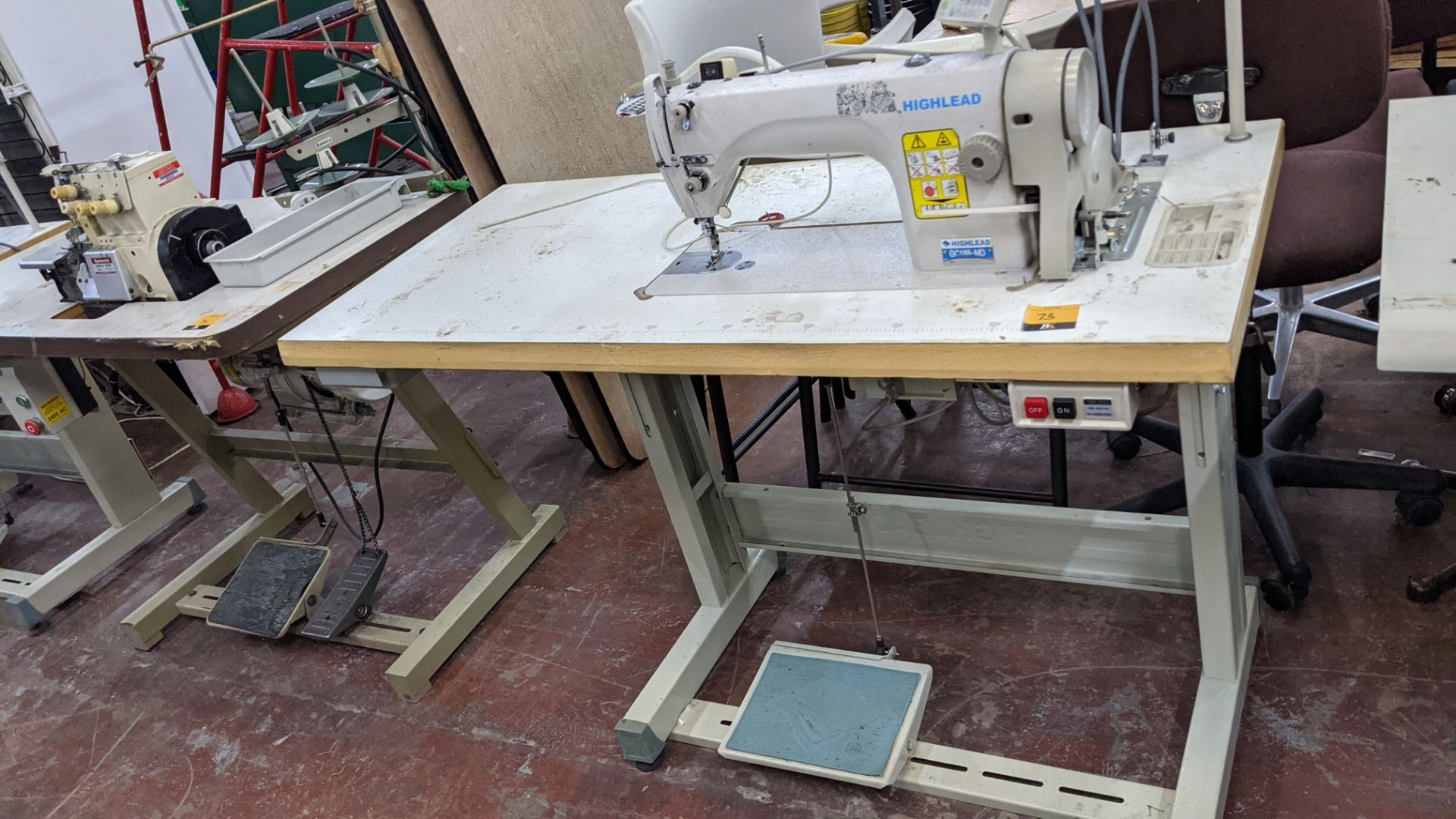 Highlead model GC188-MD sewing machine with model F-10 digital controller - Image 2 of 16