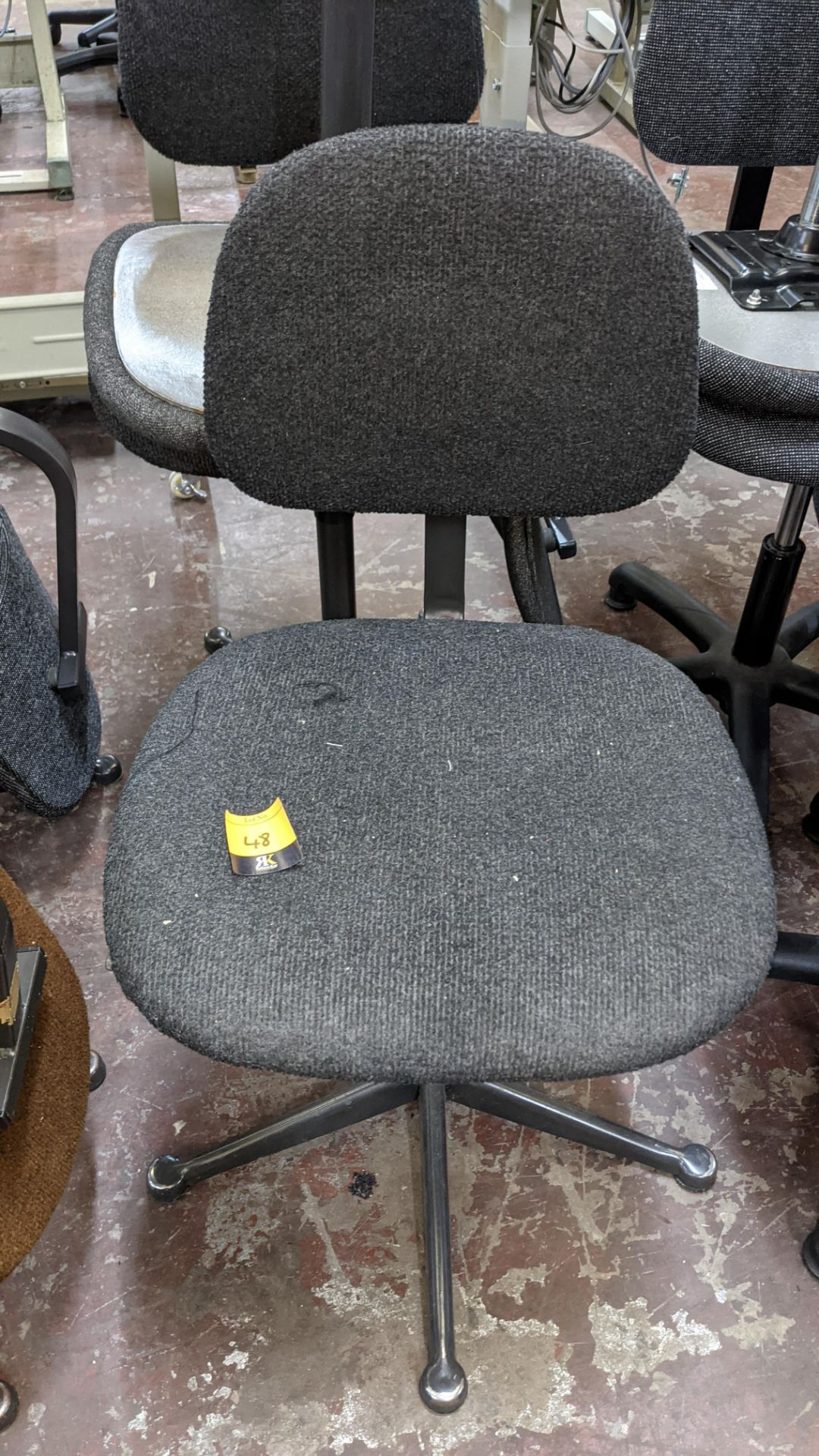 7 off assorted machinists chairs - Image 8 of 9