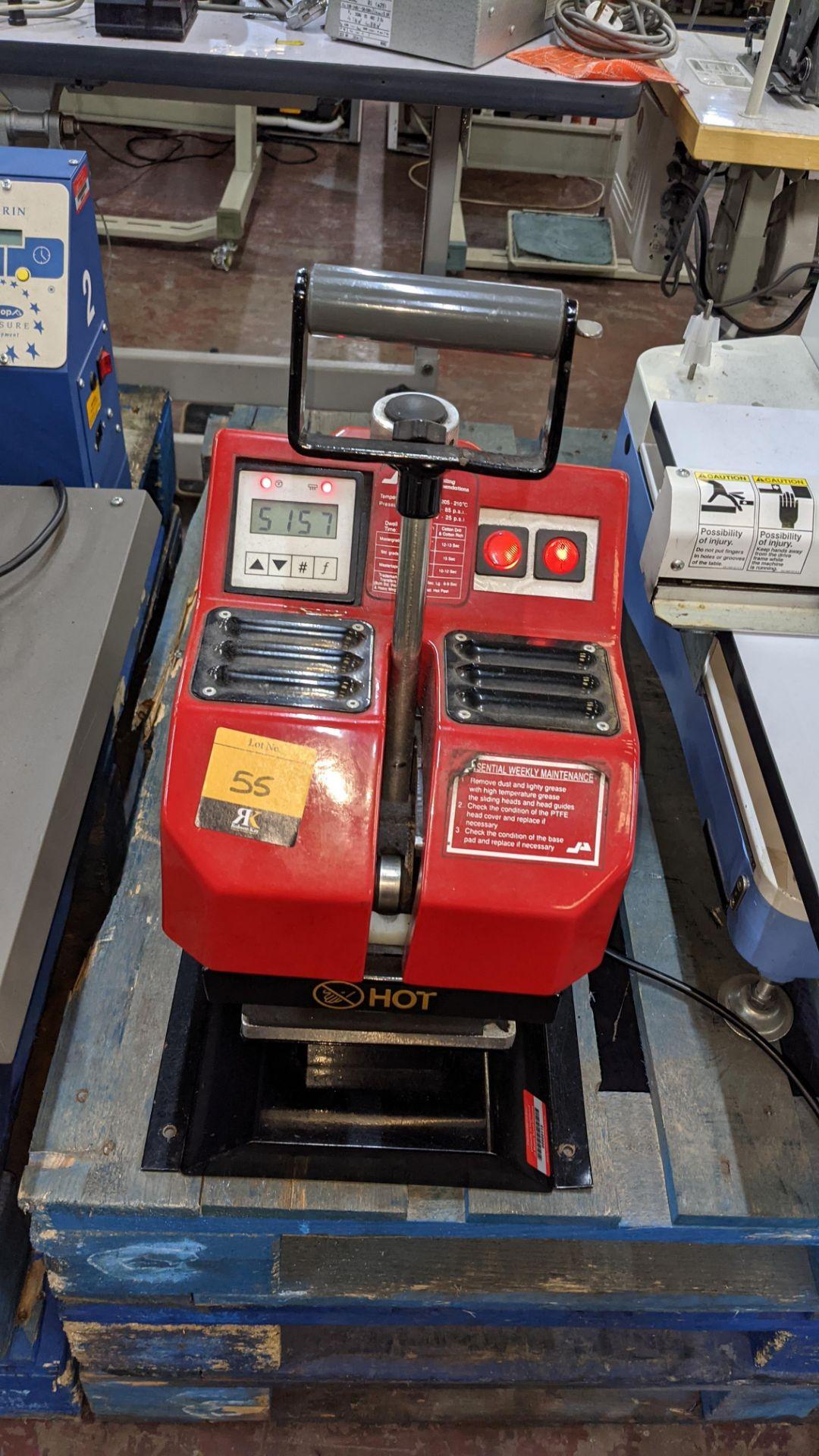 Pro-Seal Multimark heat sealing machine - Image 3 of 10
