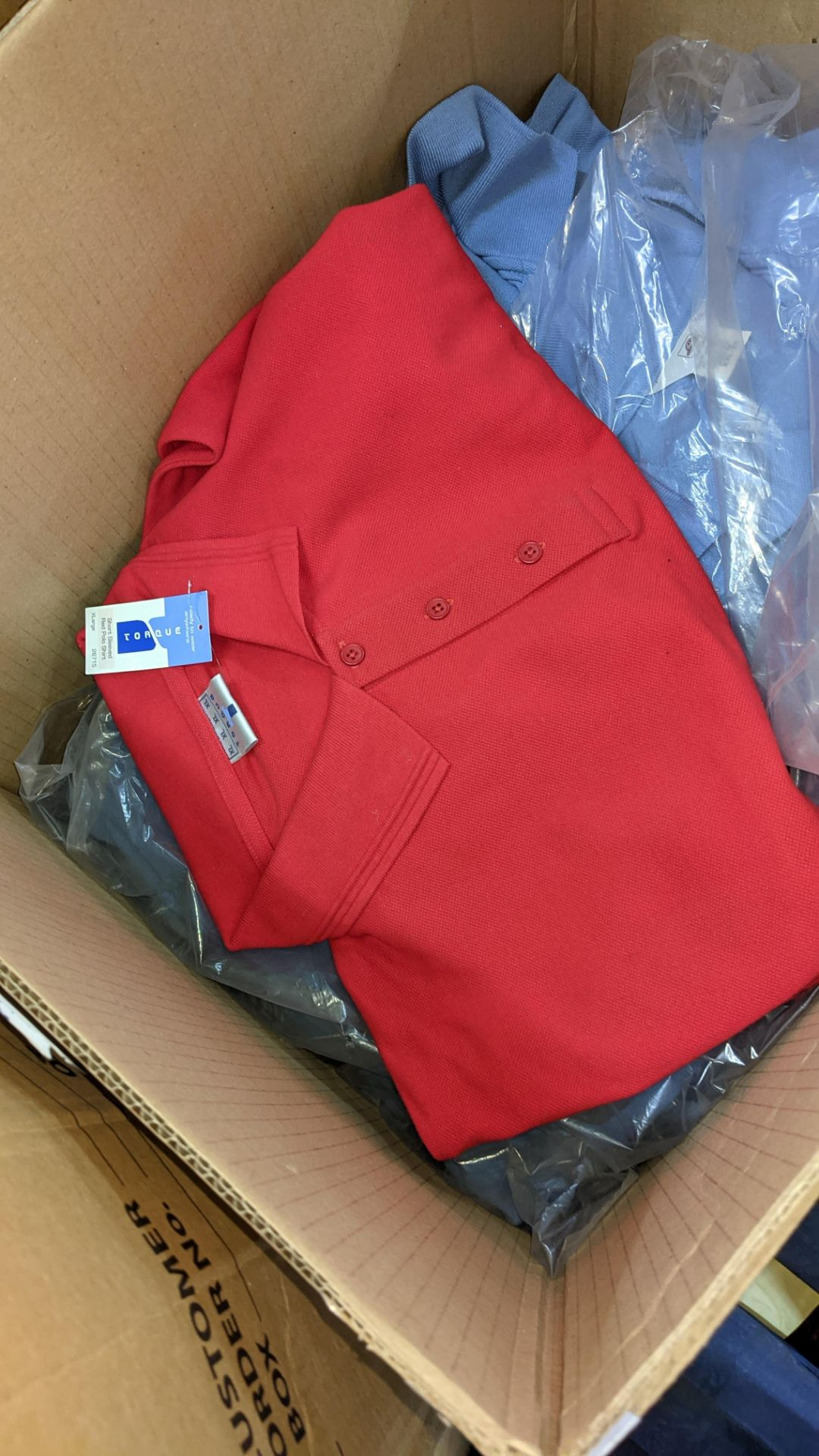 20 assorted polo shirts - 1 large box - Image 4 of 5