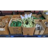 The contents of a pallet of assorted embroidery machine frames & similar - this lot consists of 5 as