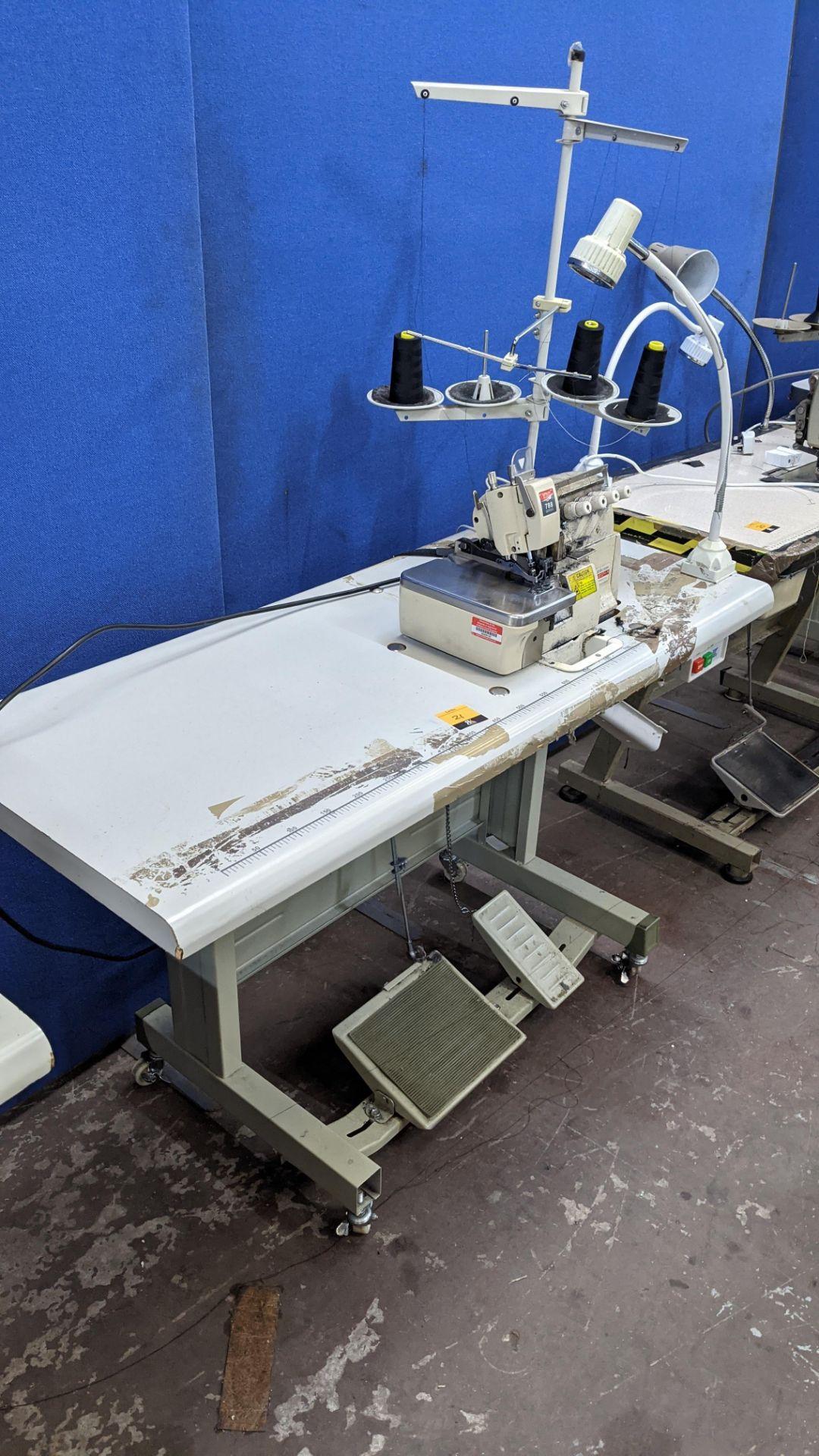 Yingon 788 series overlocker model YG788-4-13 - Image 9 of 16