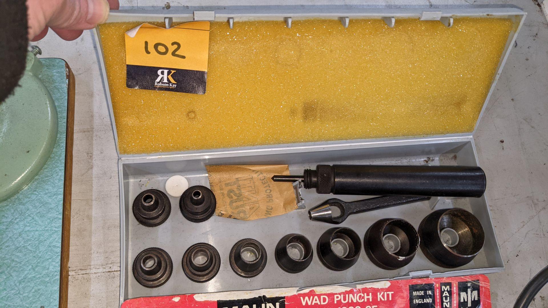 Maun wad punch kit number 1000-05 - Image 4 of 4
