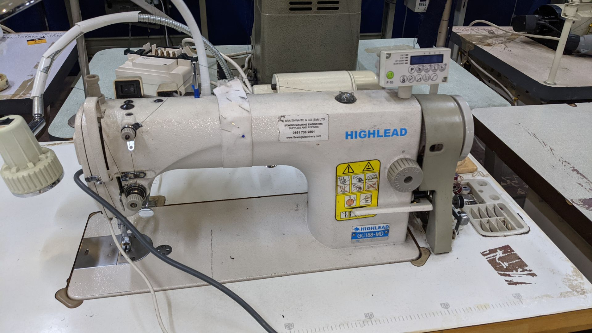 Highlead flat sewer model GC188-MD - Image 6 of 17