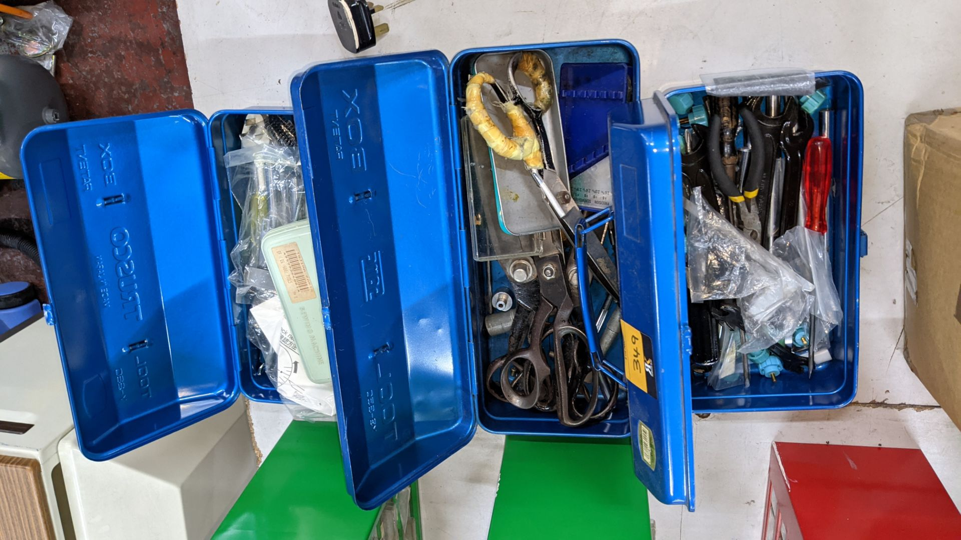 3 blue tool kits & their contents - Image 5 of 5