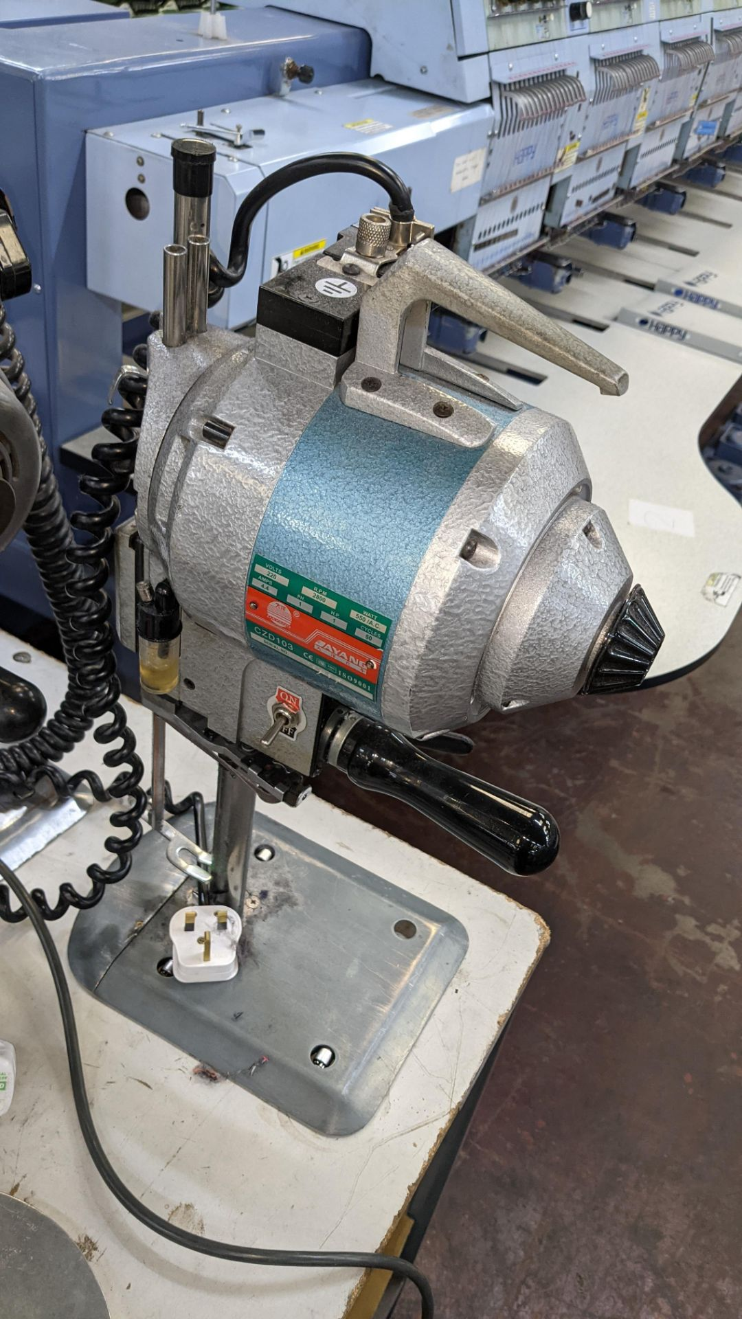 Ayang model CZD103 electric cutter - Image 6 of 6