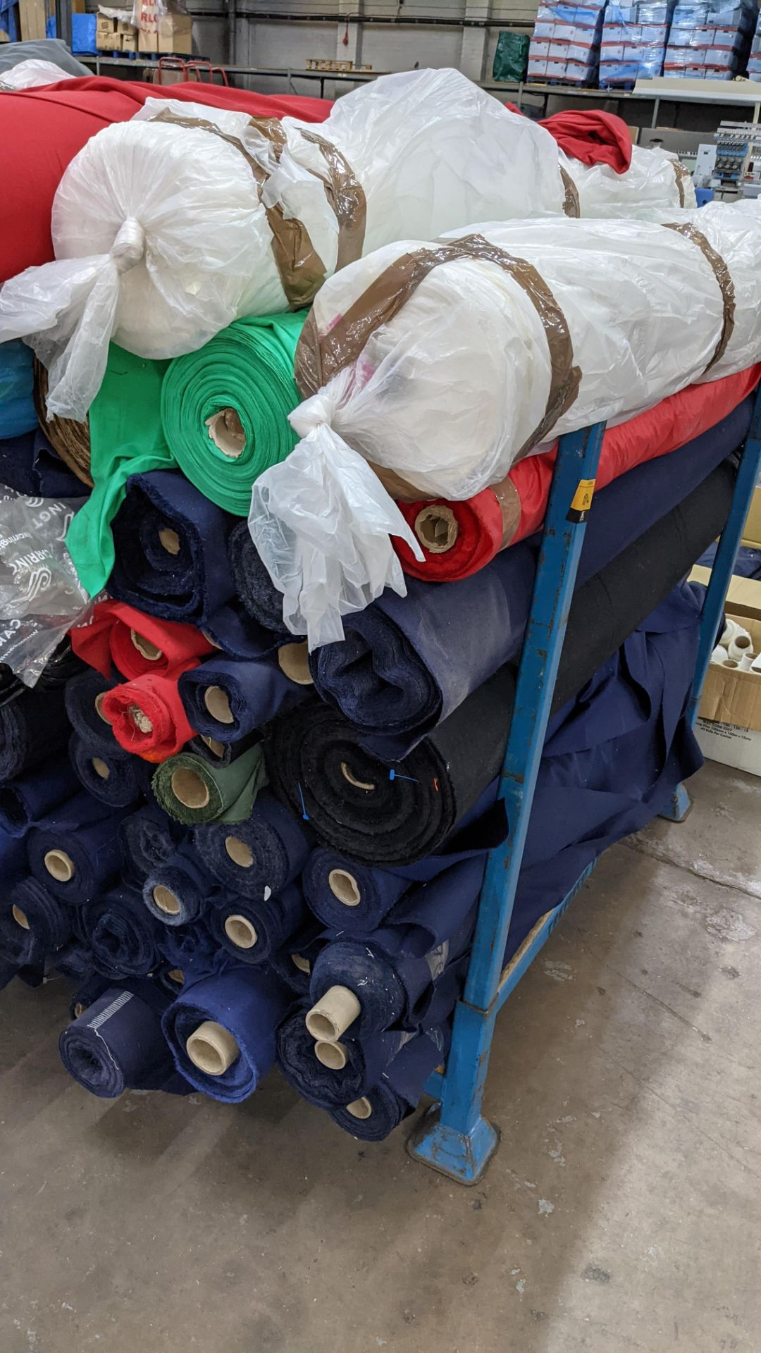 The contents of a large stillage of fabric. Please note the stillage is excluded and cannot be remo - Image 4 of 8