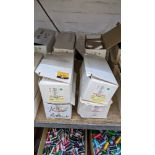 8 boxes of Madeira Burmit No. 40 rayon embroidery thread