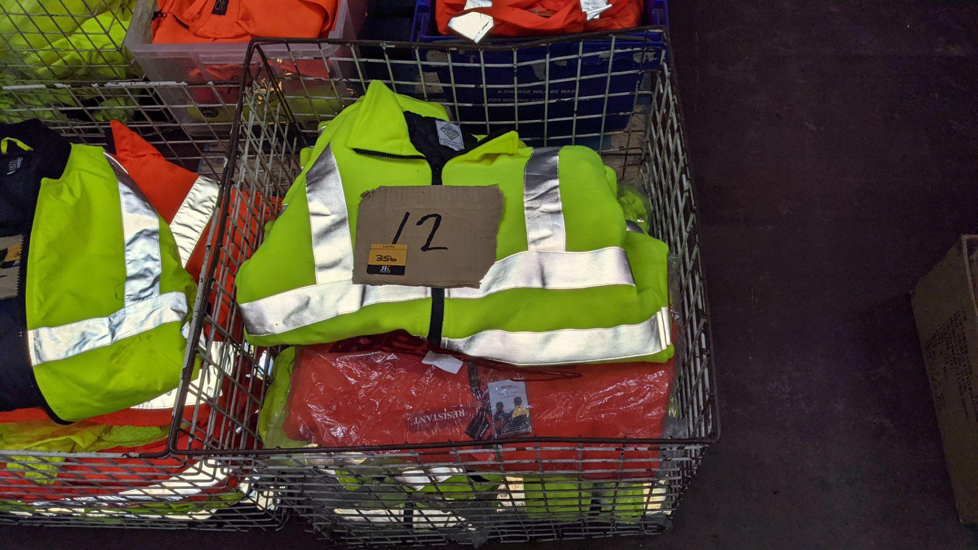 12 off assorted hi-vis jackets - Image 4 of 5