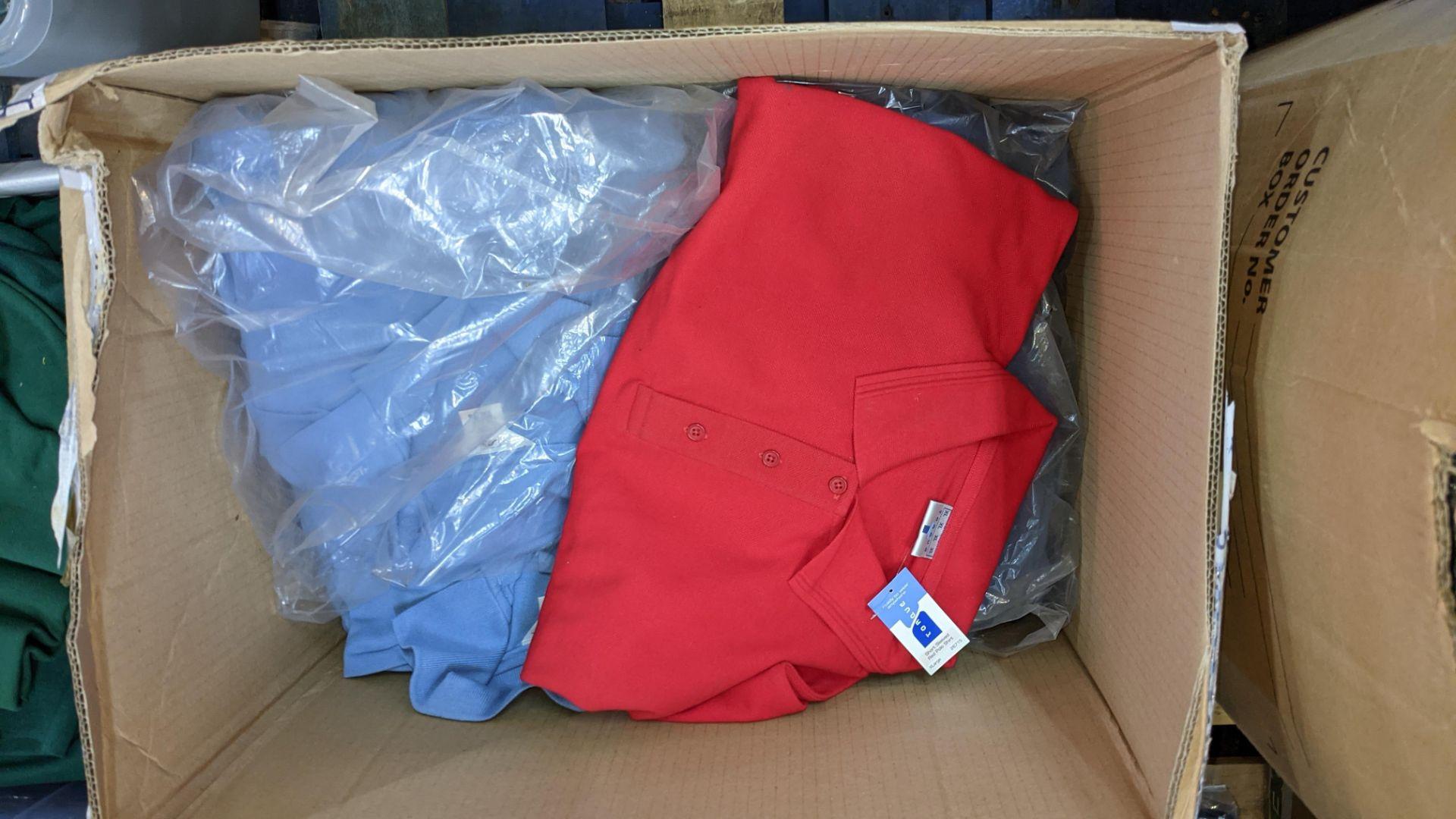 20 assorted polo shirts - 1 large box - Image 3 of 5