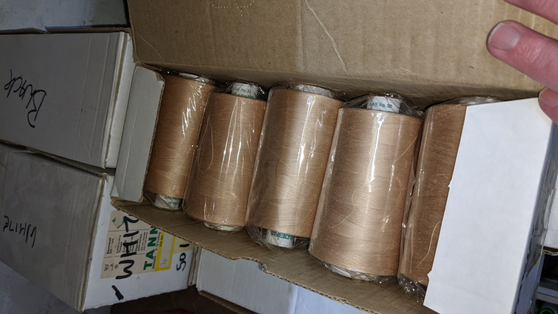 7 large boxes of Madeira Tanne cotton embroidery thread - Image 5 of 7