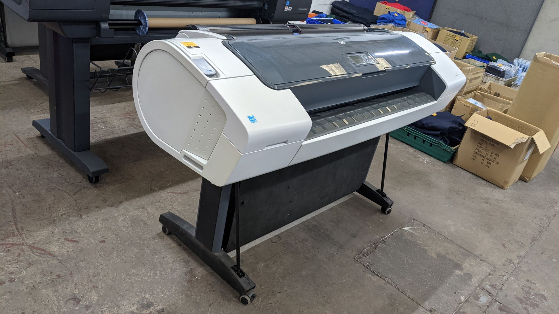 HP DesignJet T770 wide format printer, product number CH539A/CN375A, factory number CH539-64001 (44""
