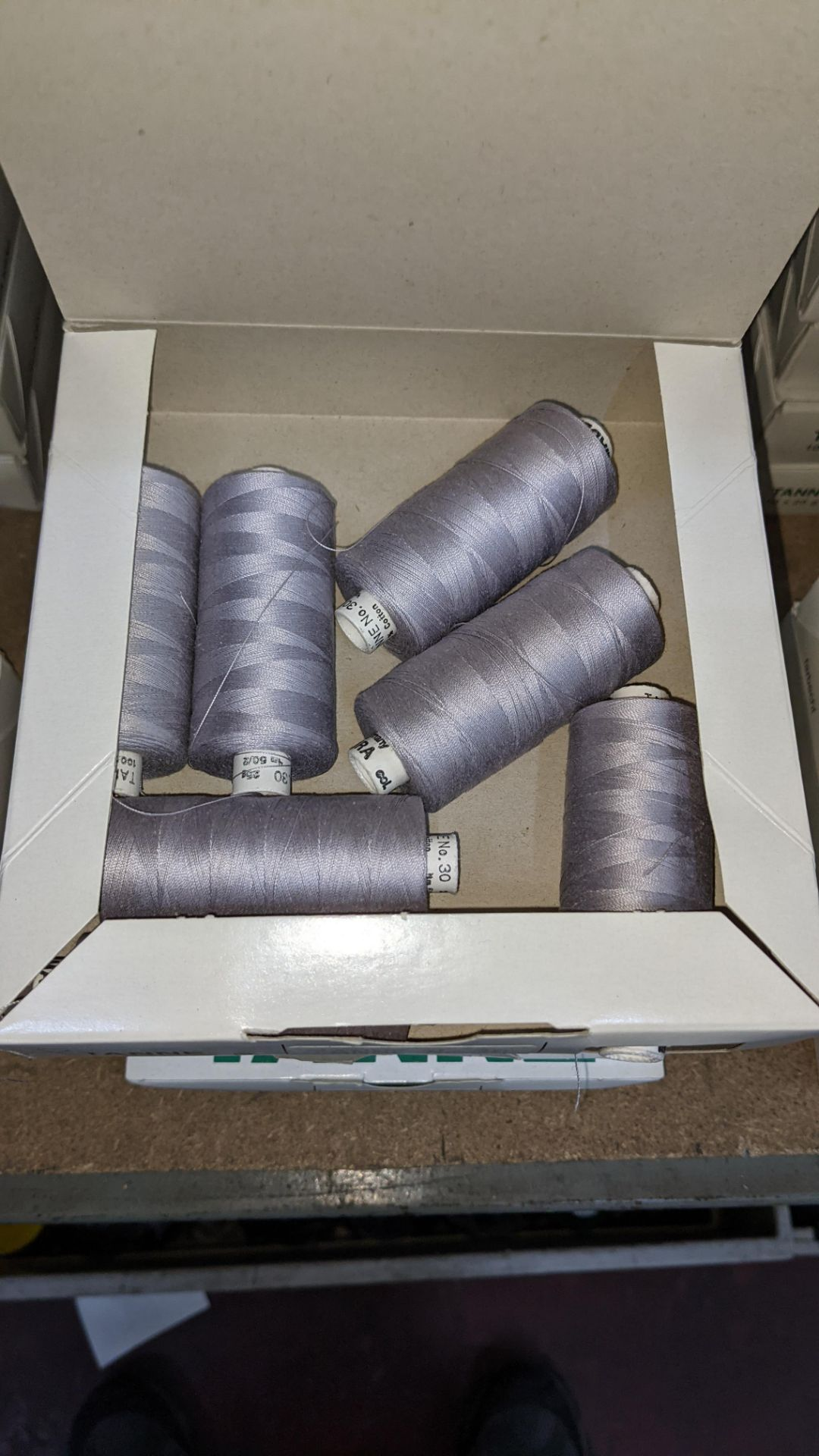 16 boxes of Madeira Tanne (Burmit) cotton embroidery thread - Image 6 of 8