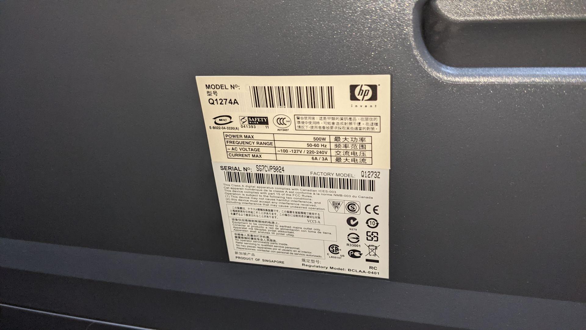 "HP DesignJet 4000ps wide format printer, model Q1274A (42"") - Image 5 of 7"