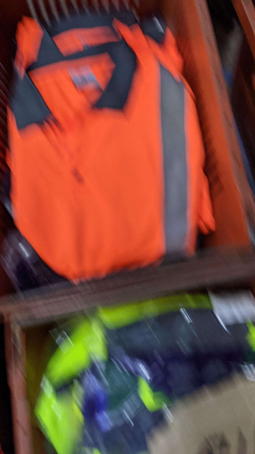 13 off hi-vis polo shirts (orange) - Image 3 of 4