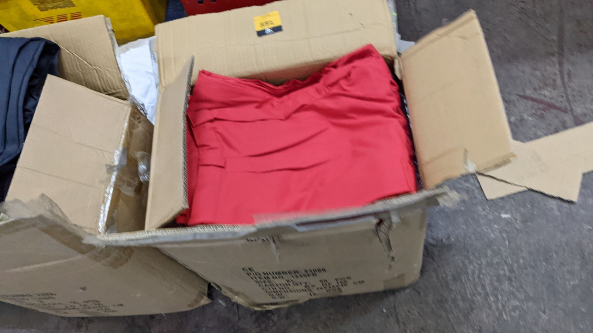 Approx 34 pairs of red trousers - Image 3 of 6