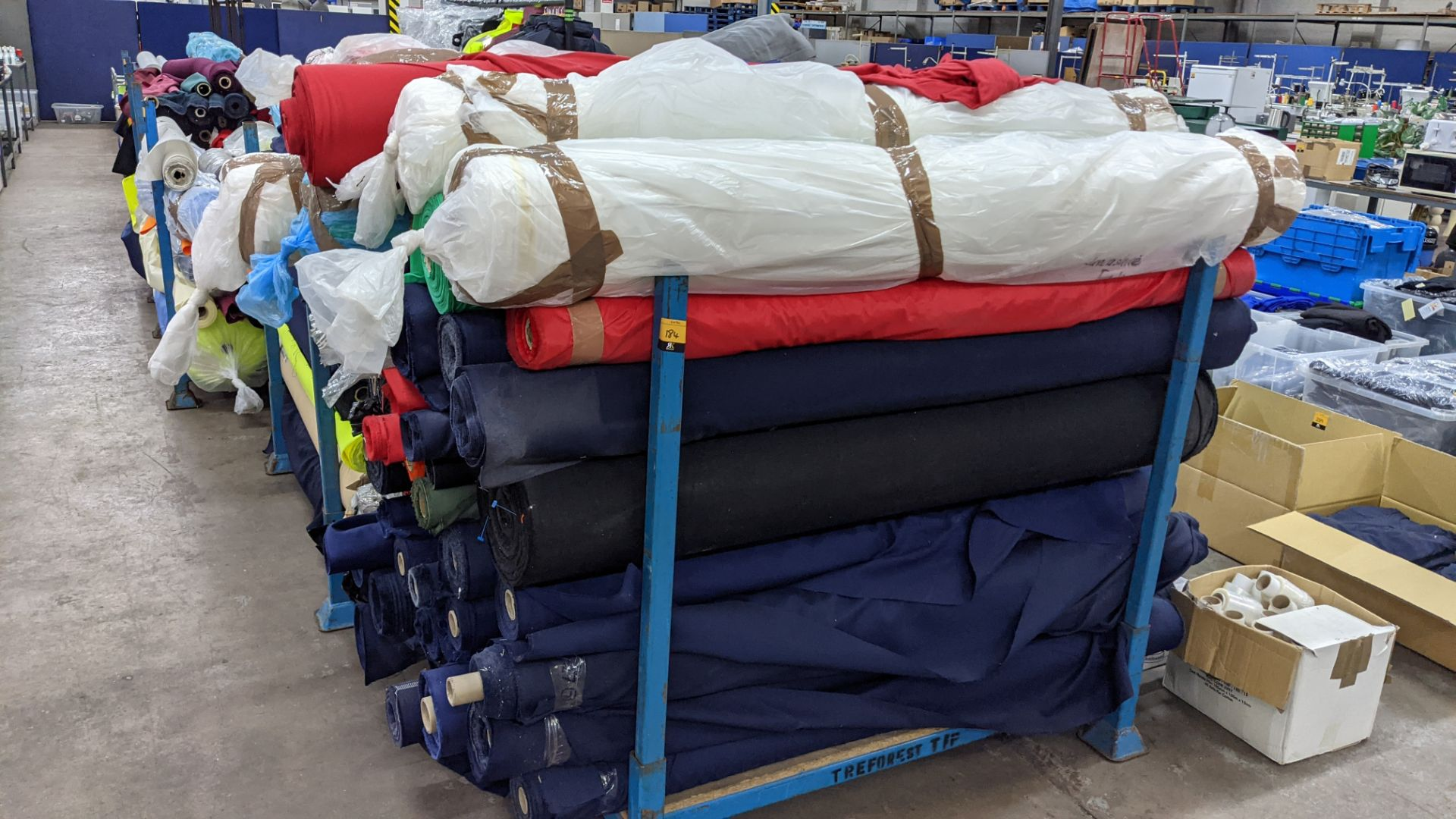 The contents of a large stillage of fabric. Please note the stillage is excluded and cannot be remo - Image 3 of 8