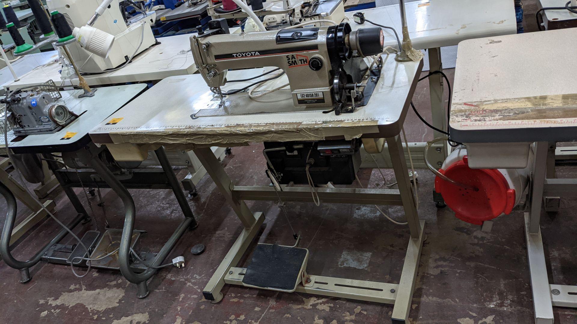 Toyota sewing machine - Image 2 of 17