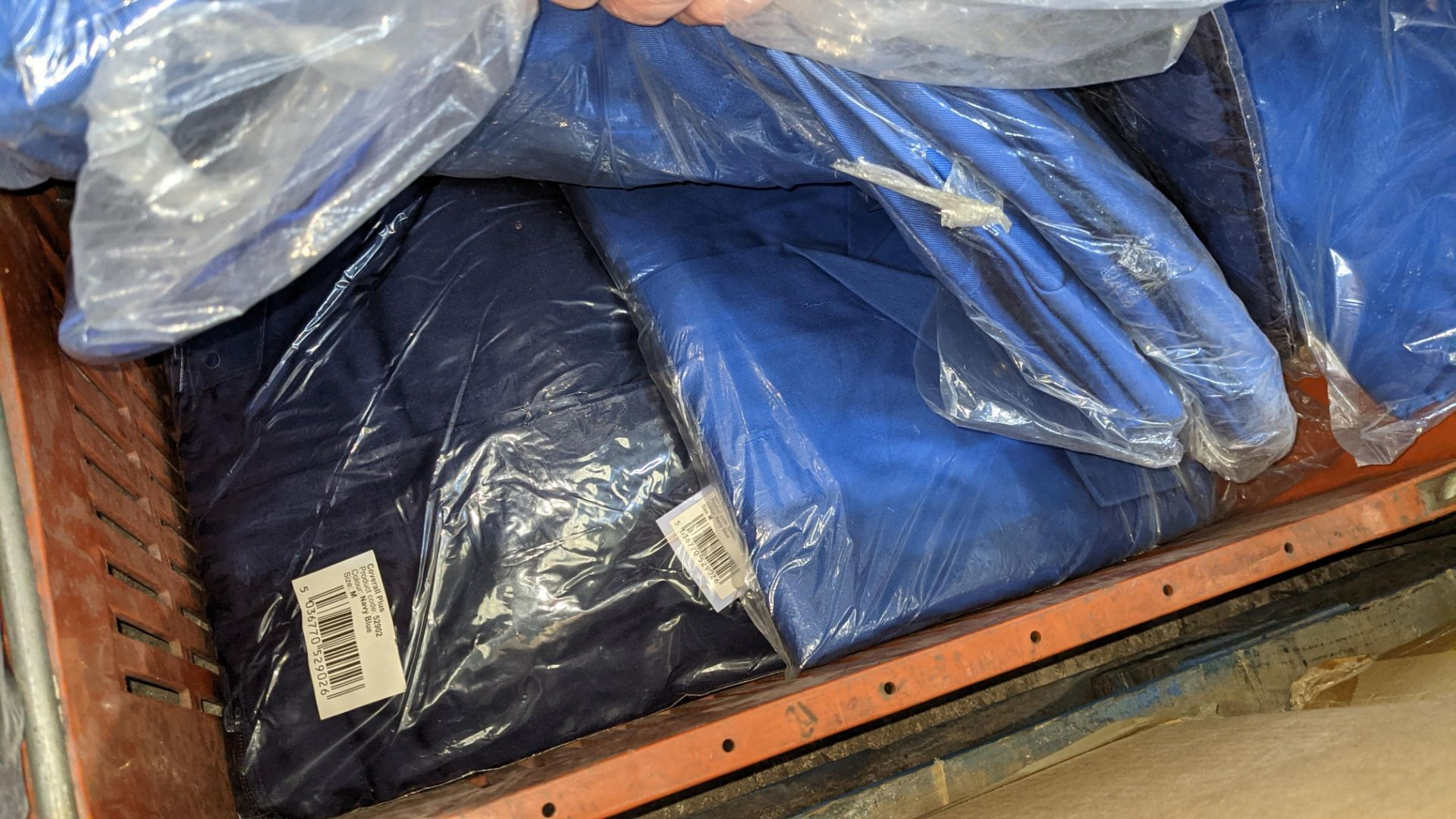 The contents of a crate of work coveralls & similar - Image 4 of 4