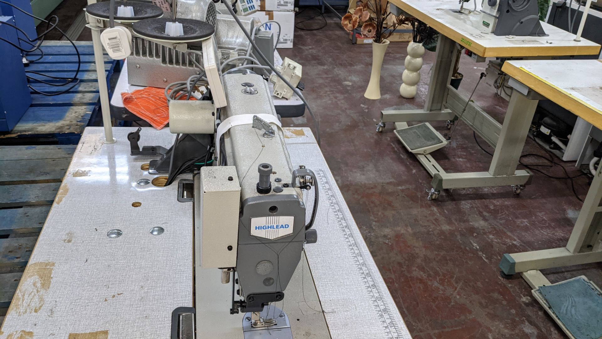 Highlead model GC128-M-D3 sewing machine - Image 11 of 18