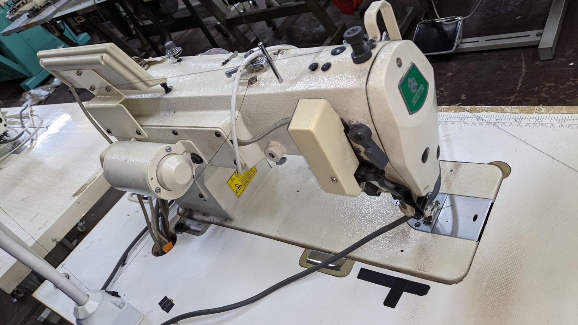 Zoje model ZJ9800A-D3B/PF lockstitch sewing machine with model WR-501 digital controller - Image 12 of 20