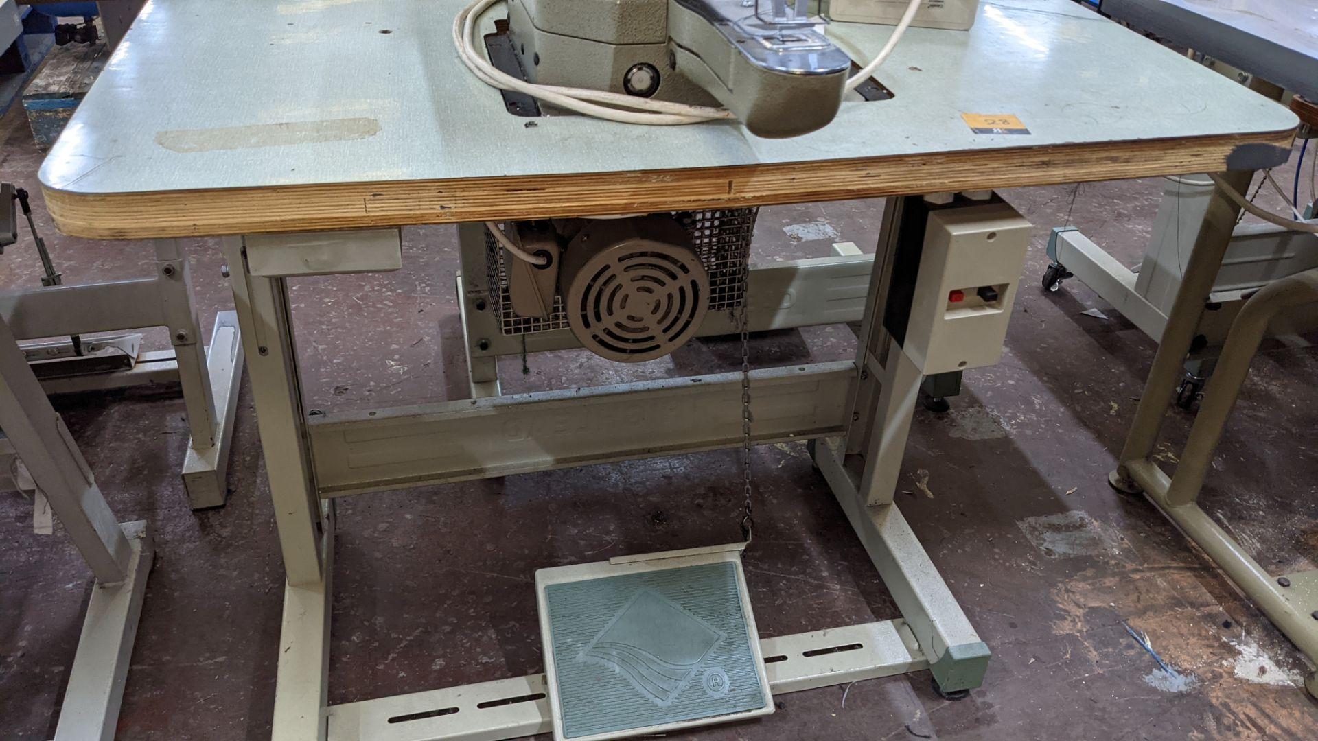 Brother bar tack sewing machine model LK3-B430-2 - Image 12 of 15