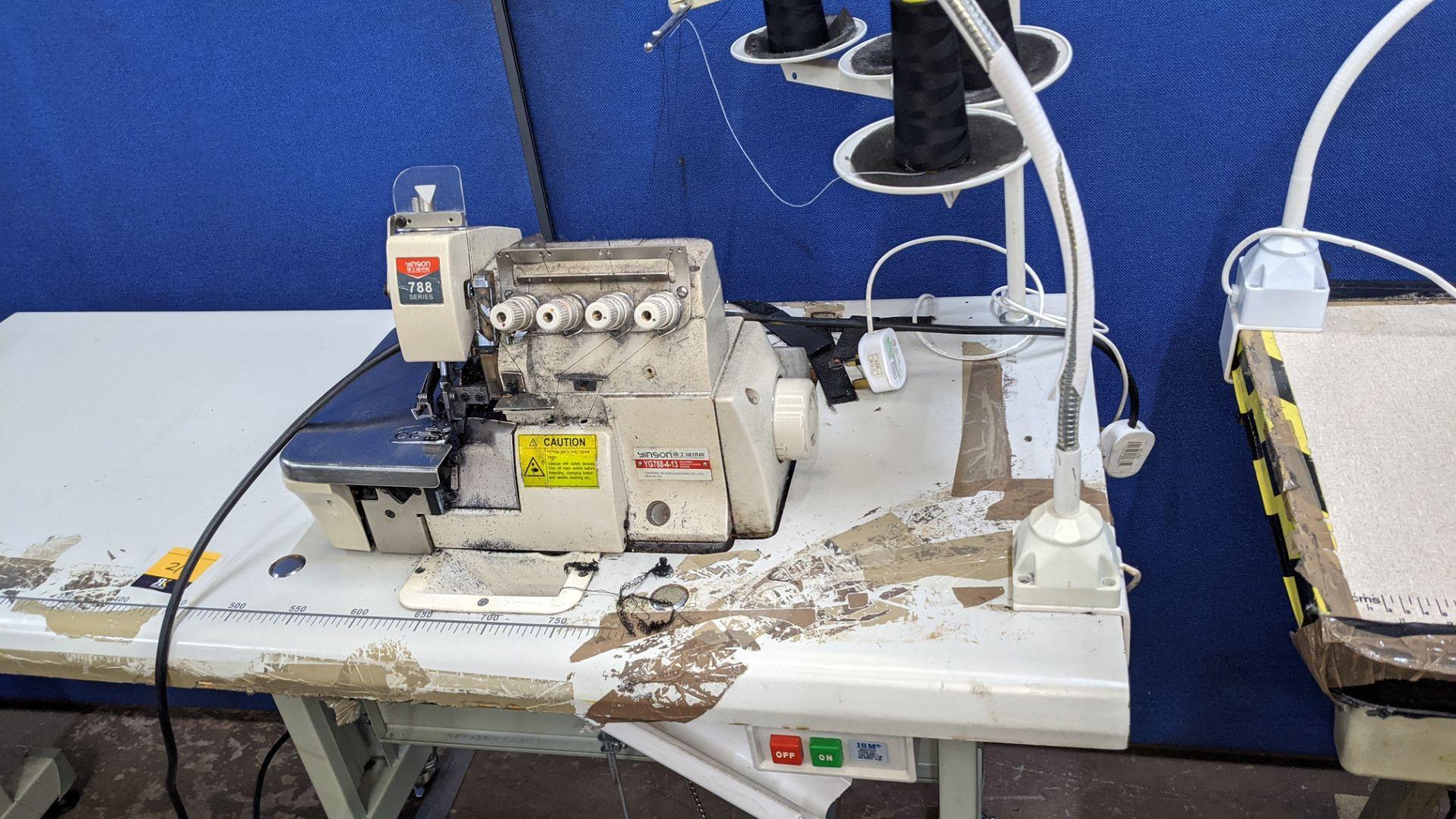 Yingon 788 series overlocker model YG788-4-13 - Image 5 of 16