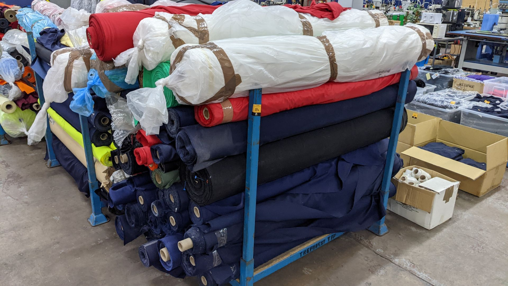 The contents of a large stillage of fabric. Please note the stillage is excluded and cannot be remo - Image 2 of 8