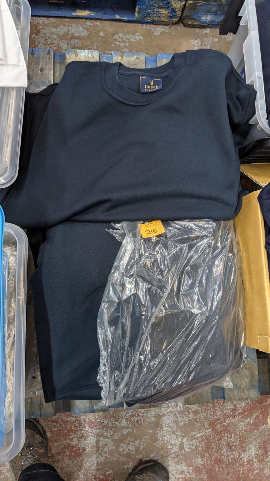 Approx 15 off Uneek dark blue sweatshirts - 2 bags - Image 3 of 5