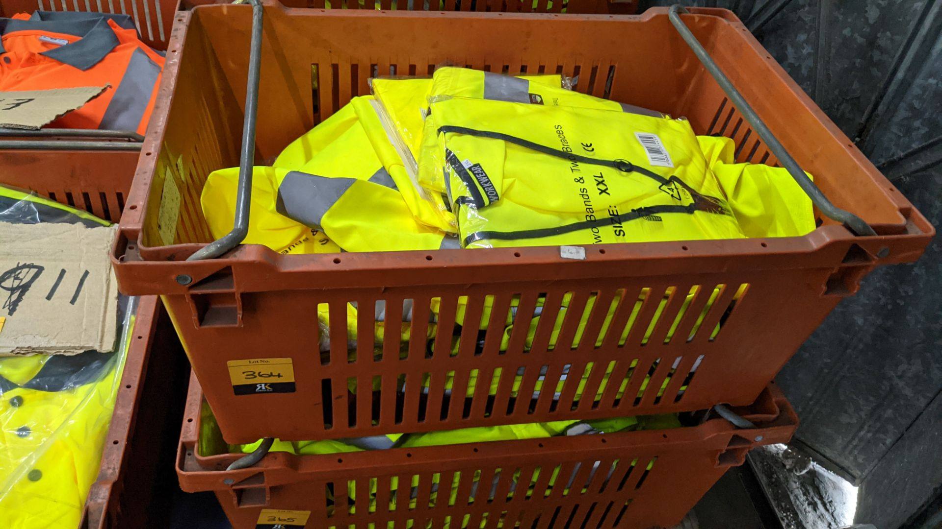 20 off yellow hi-vis vests - Image 2 of 4