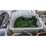 Approx 30 mixed polo shirts & jumpers - the contents of 1 large crate. NB crate excluded