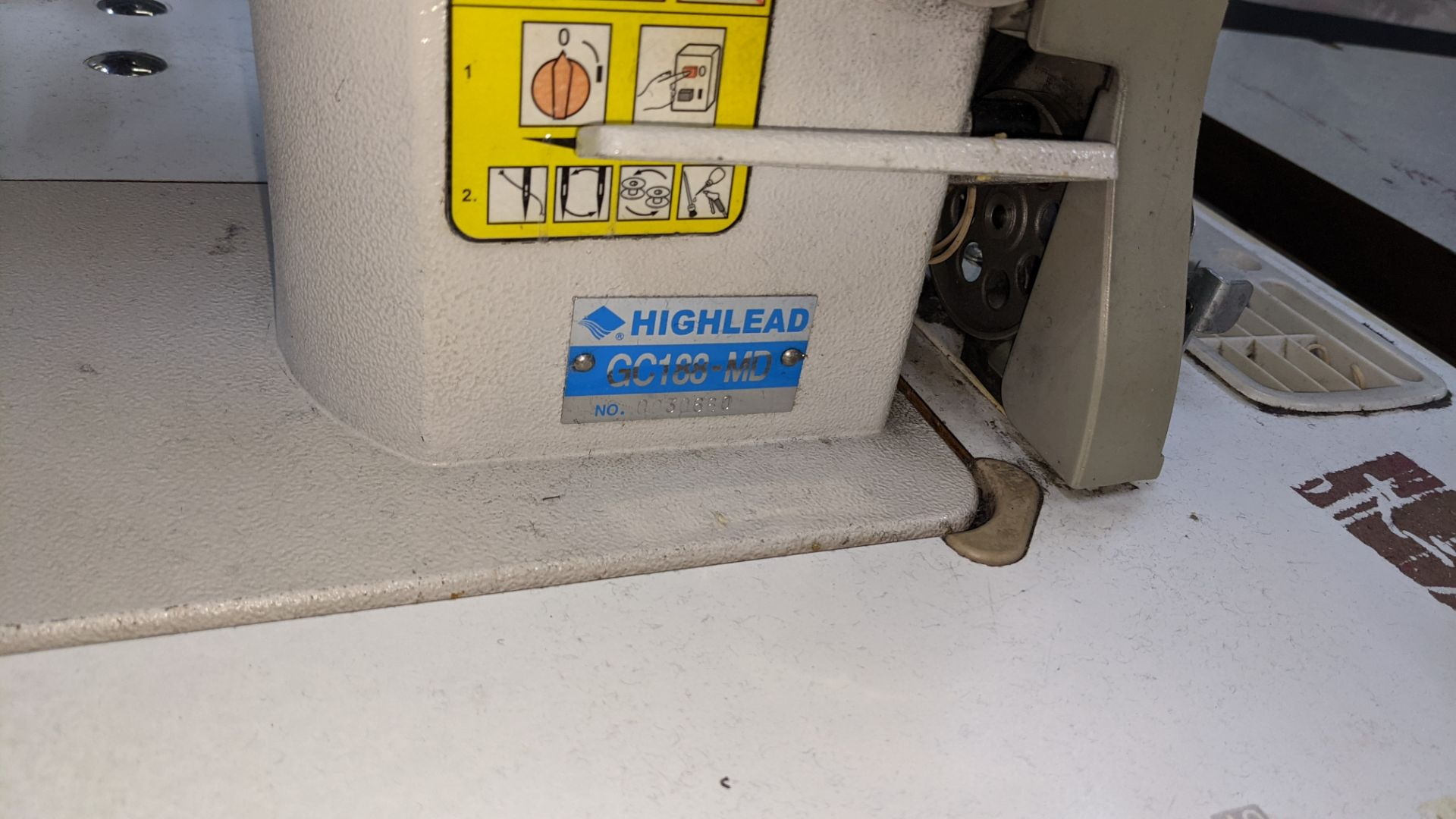 Highlead flat sewer model GC188-MD - Image 8 of 17