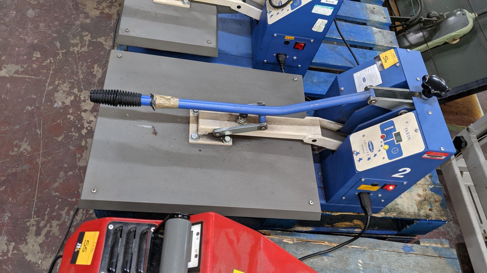 Europa Jarin benchtop heat transfer press model HF5000 - Image 4 of 13