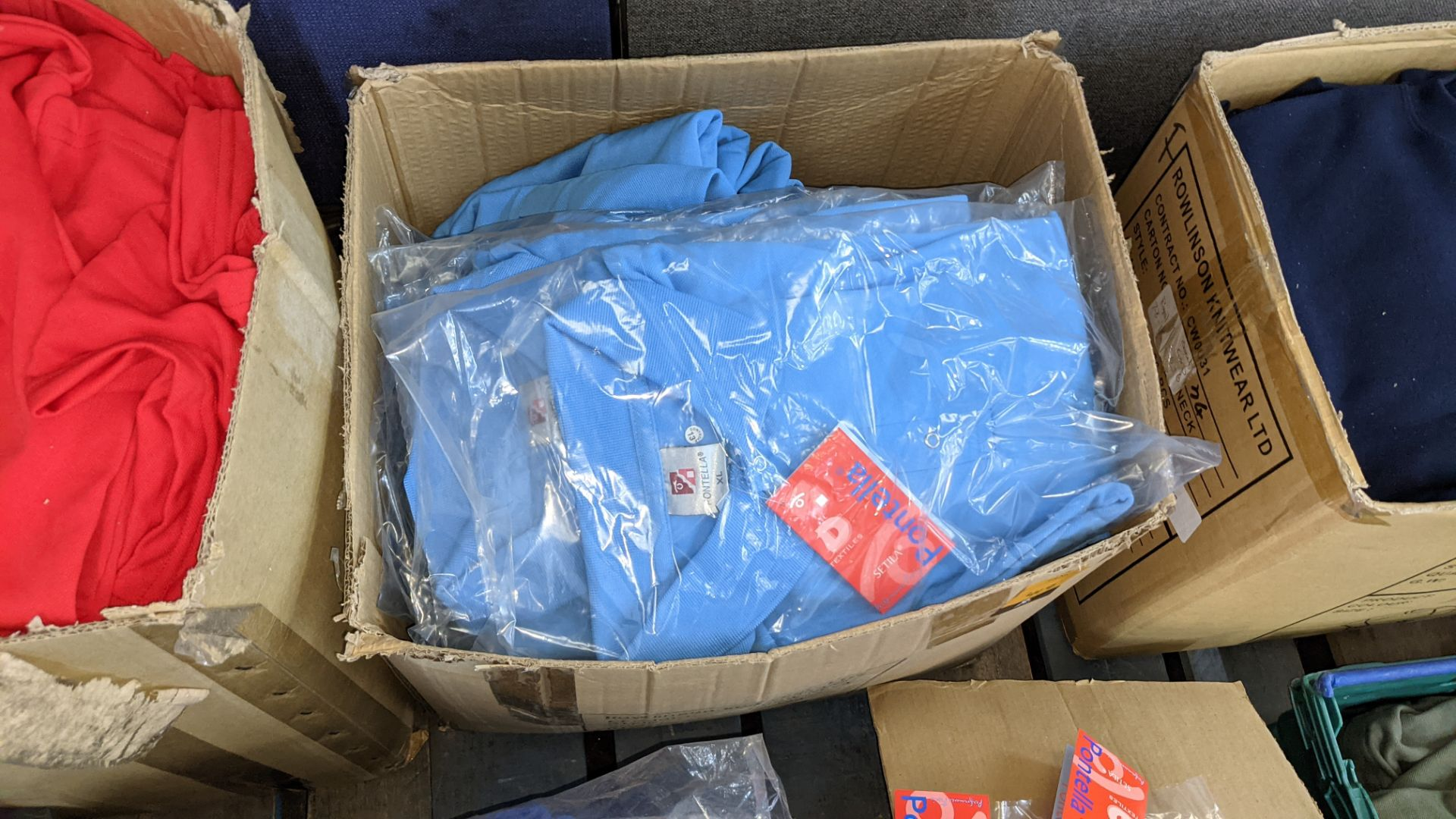Quantity of pale blue polo shirts - Image 2 of 4