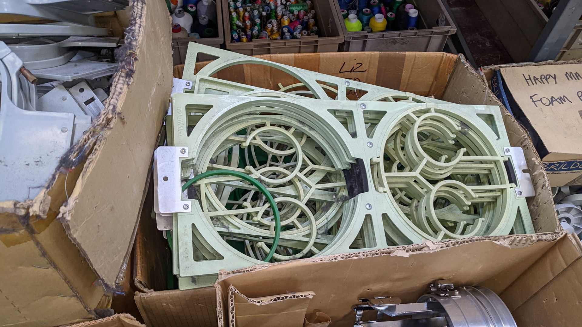 The contents of a pallet of assorted embroidery machine frames & similar - this lot consists of 6 as - Image 8 of 8