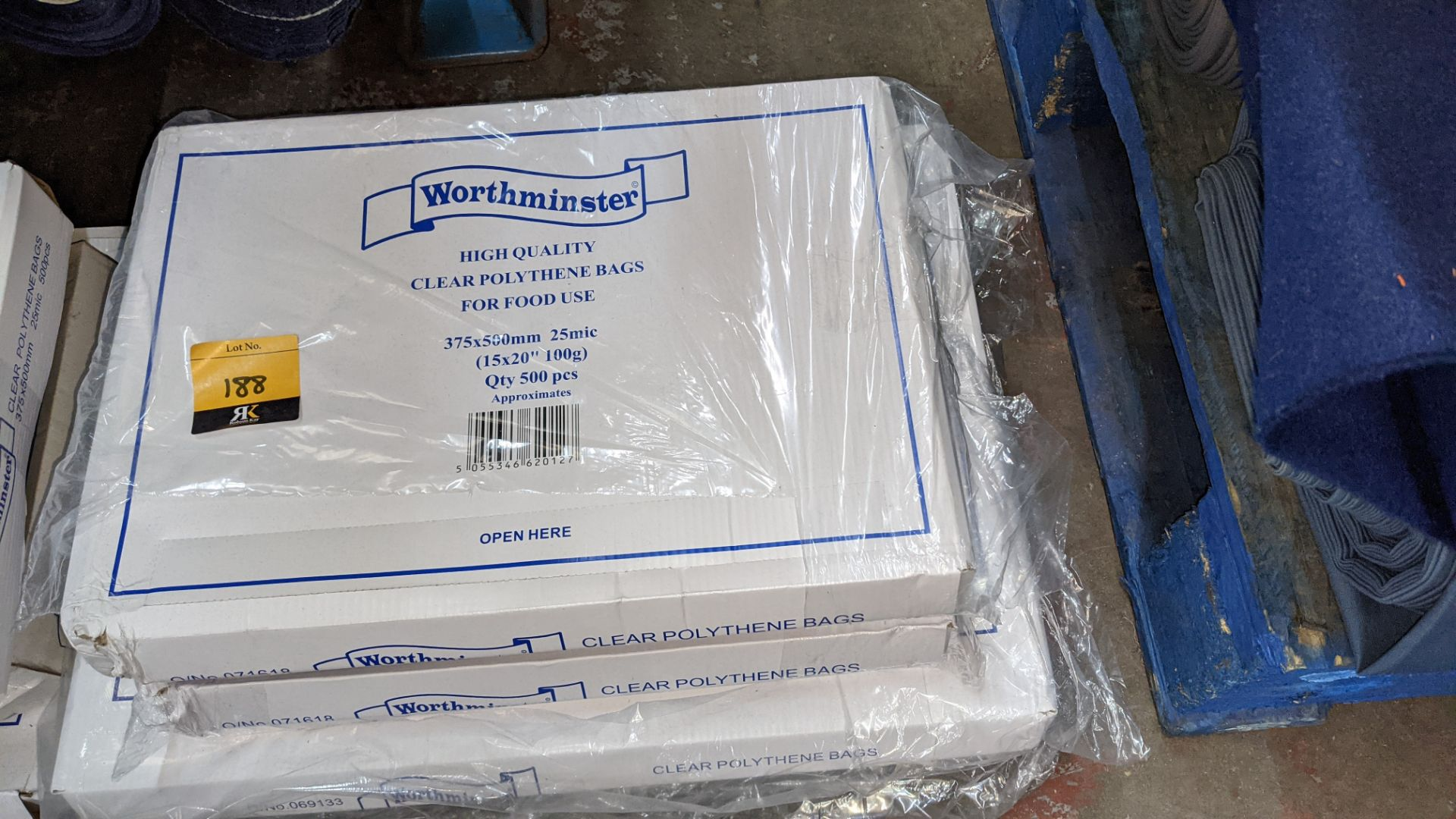 4 boxes of clear food bags by Worthminster - Image 3 of 5