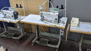Zoje model ZJ9800A-D3B/PF lockstitch sewing machine with model WR-501 digital controller